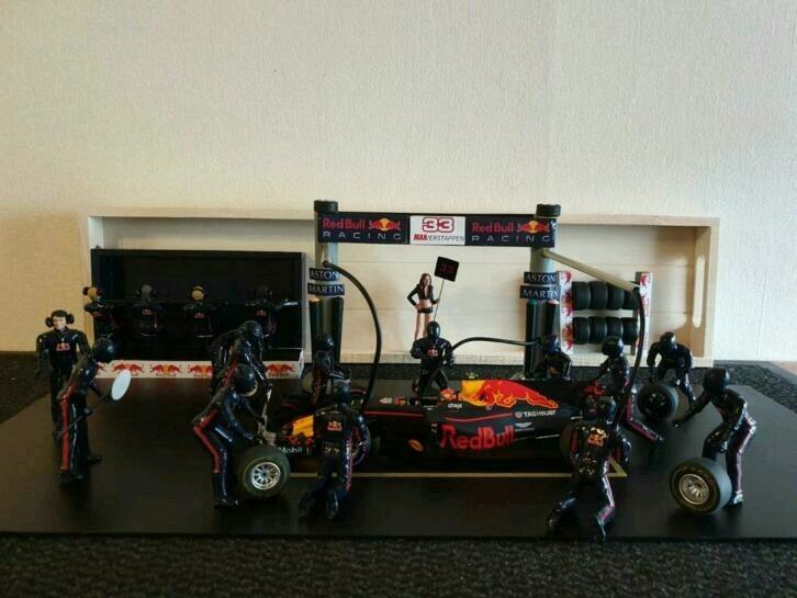 Fan maakt Max Verstappen pitstop sets!
